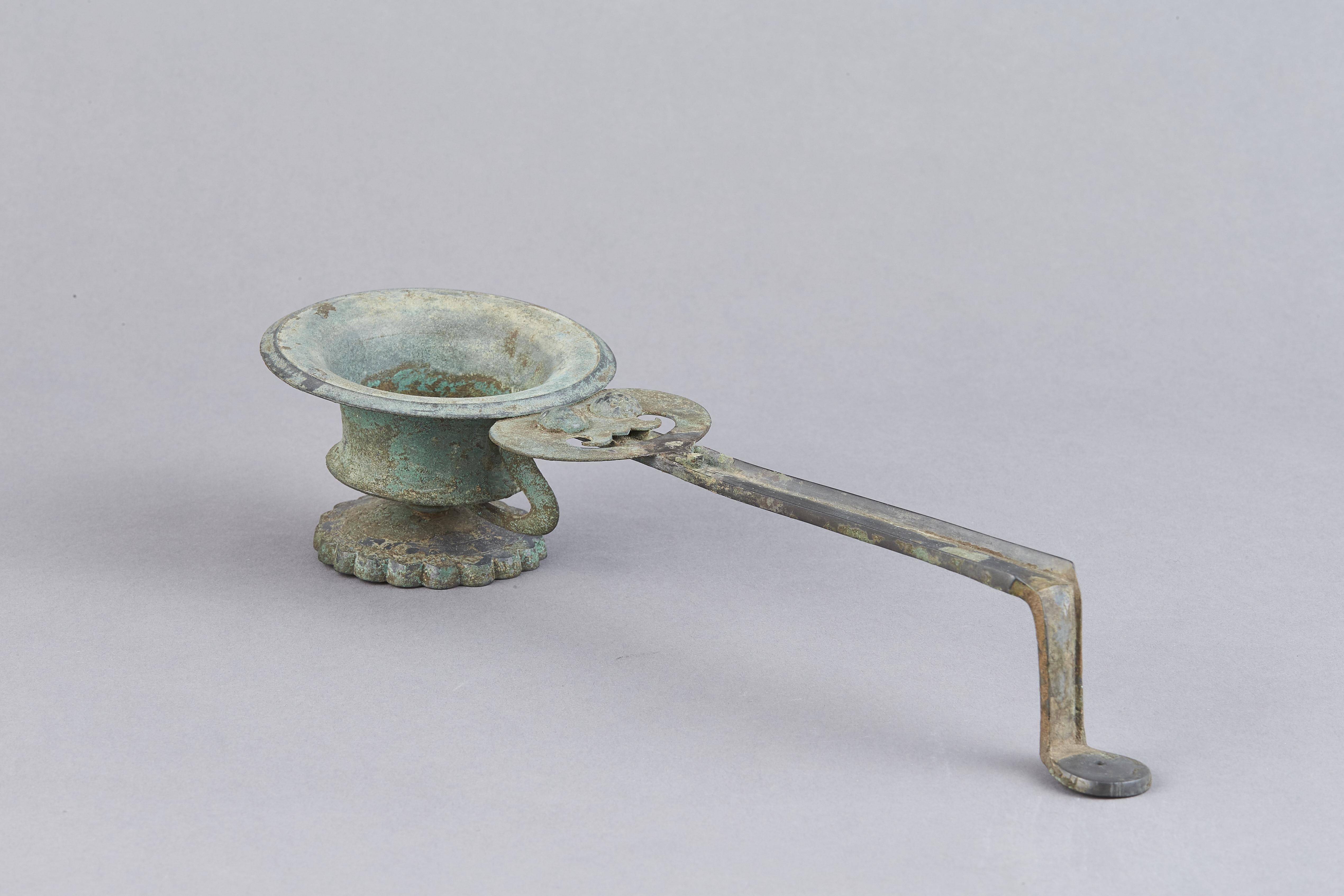 171145唐 青銅 柄香爐