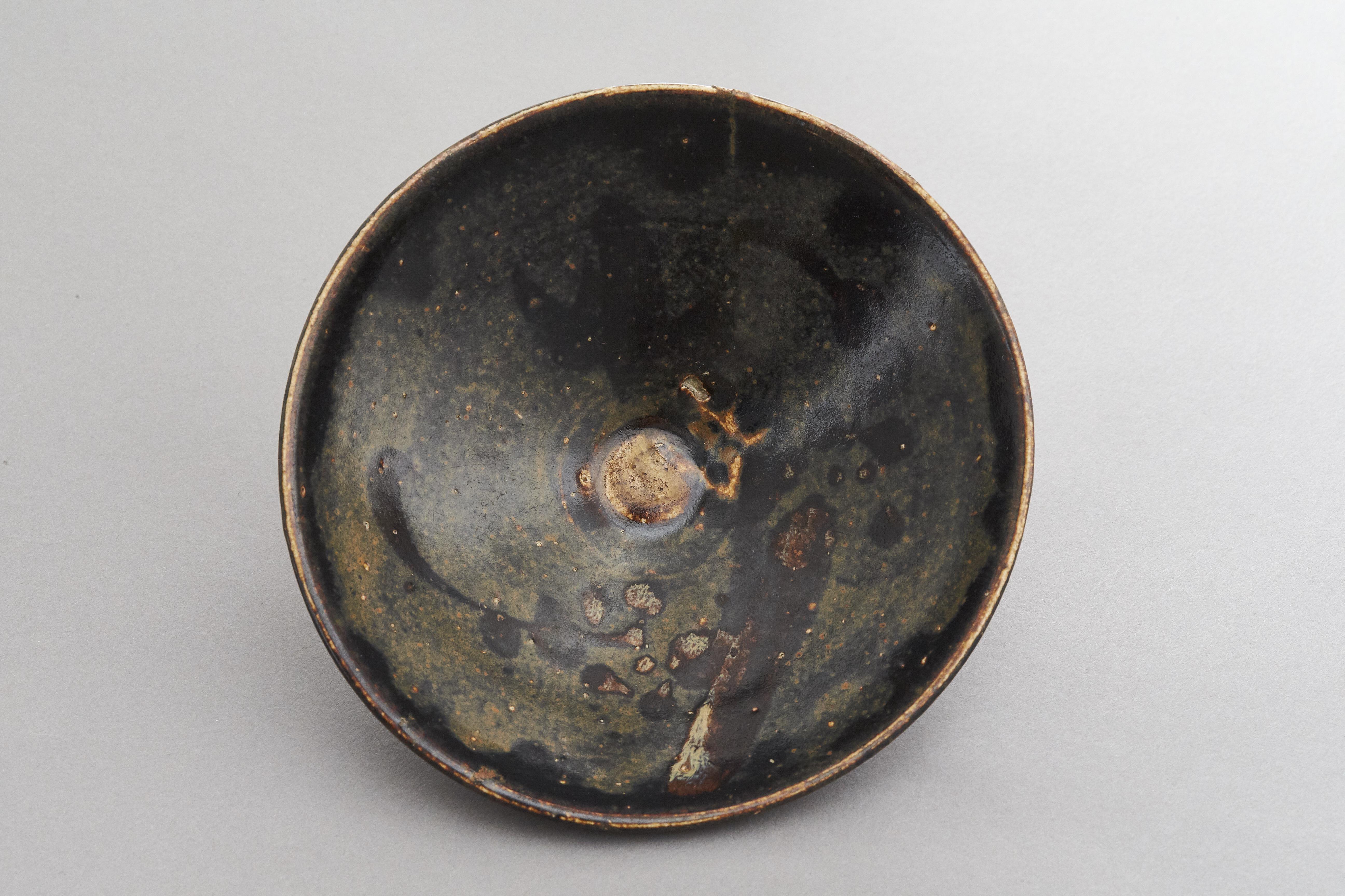 171362南宋 吉州窯 梅枝紋 天目碗