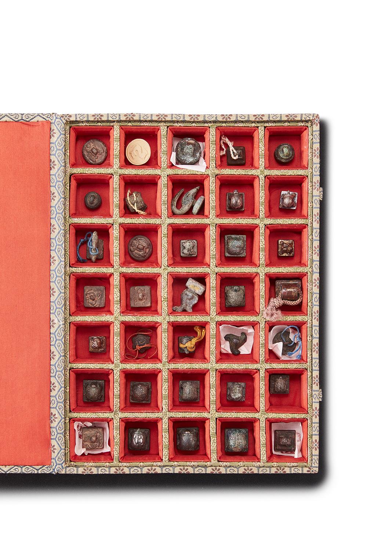 170273戦国~漢 青銅鎏金 亀印等 計35件