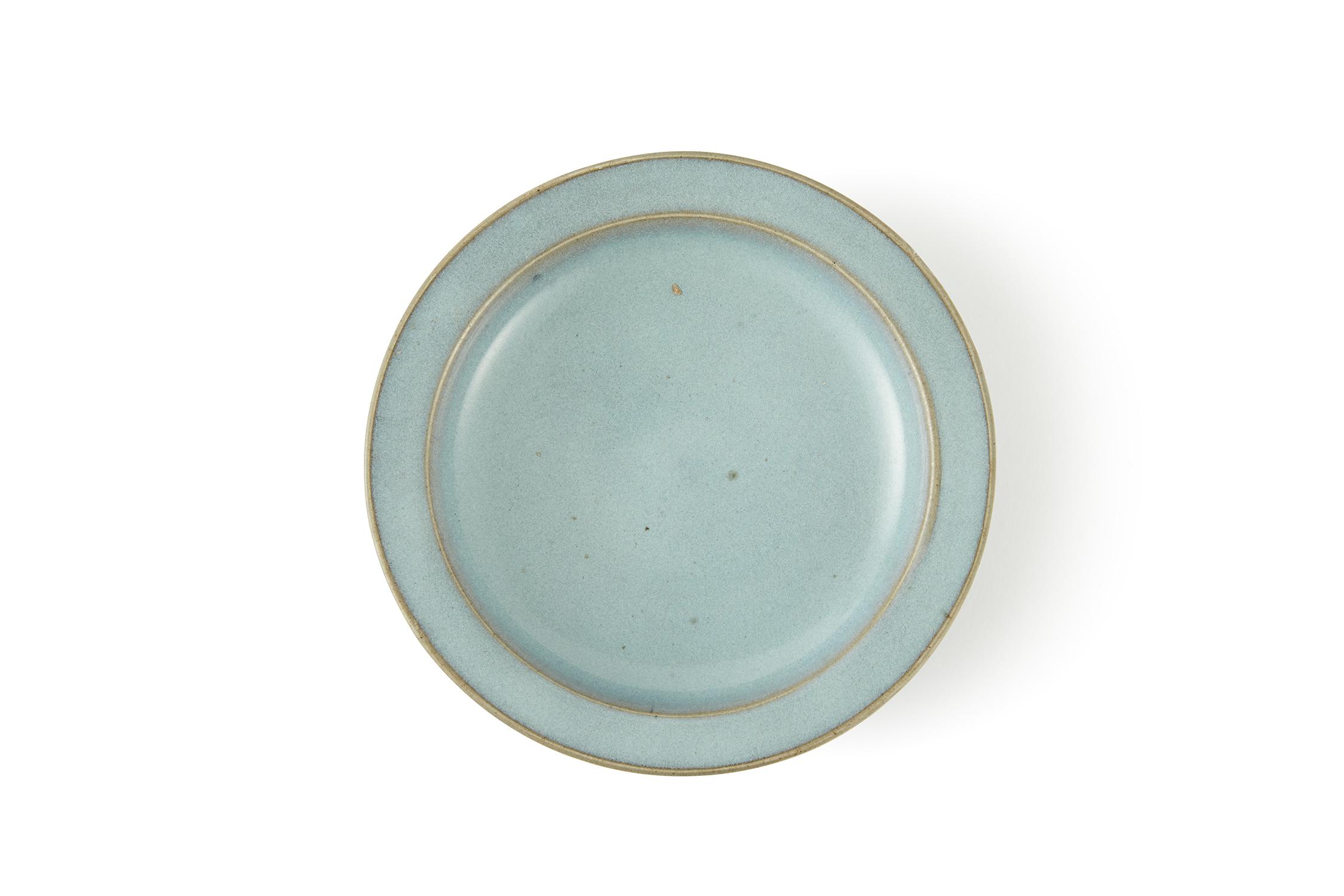 170554宋 鈞窯 天藍釉 盤