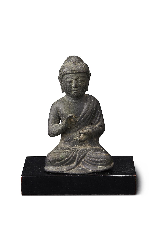 170750五代~宋 銅 菩薩坐像