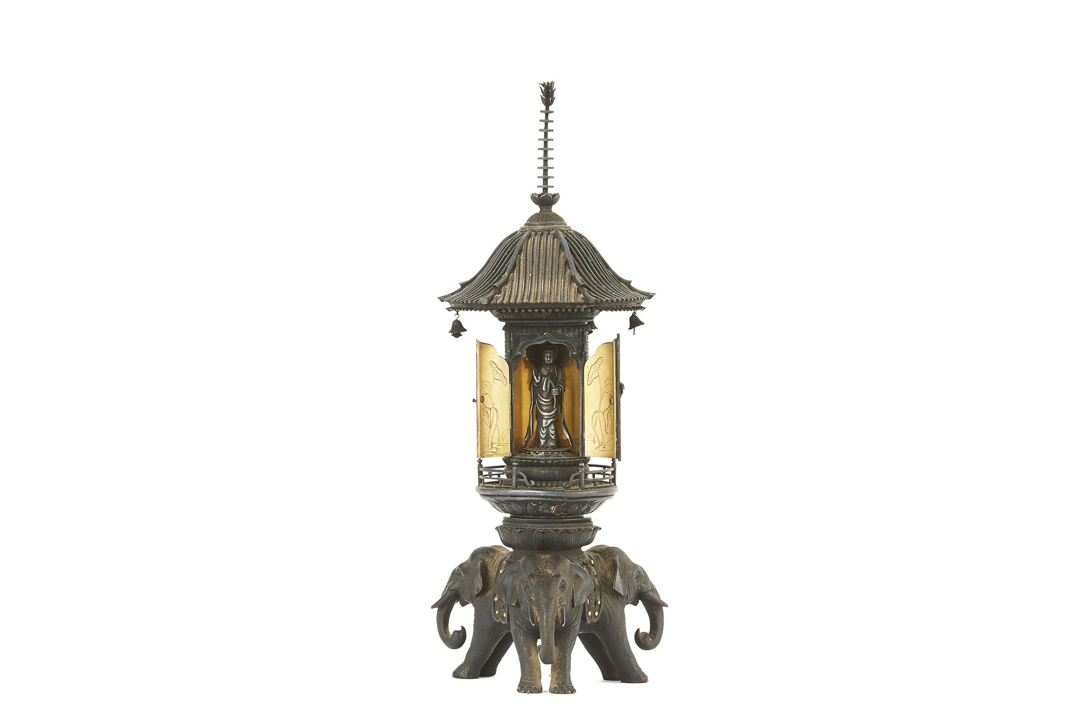 170829「正之」「美之」造 銀製 普賢菩薩