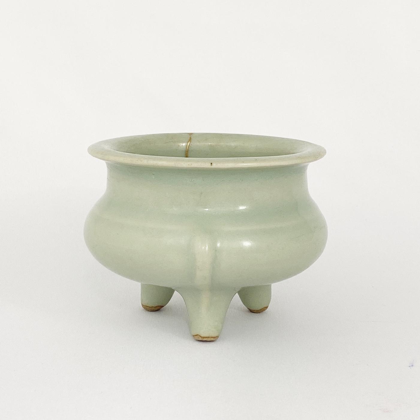 10191南宋 龍泉窯 鬲式 爐