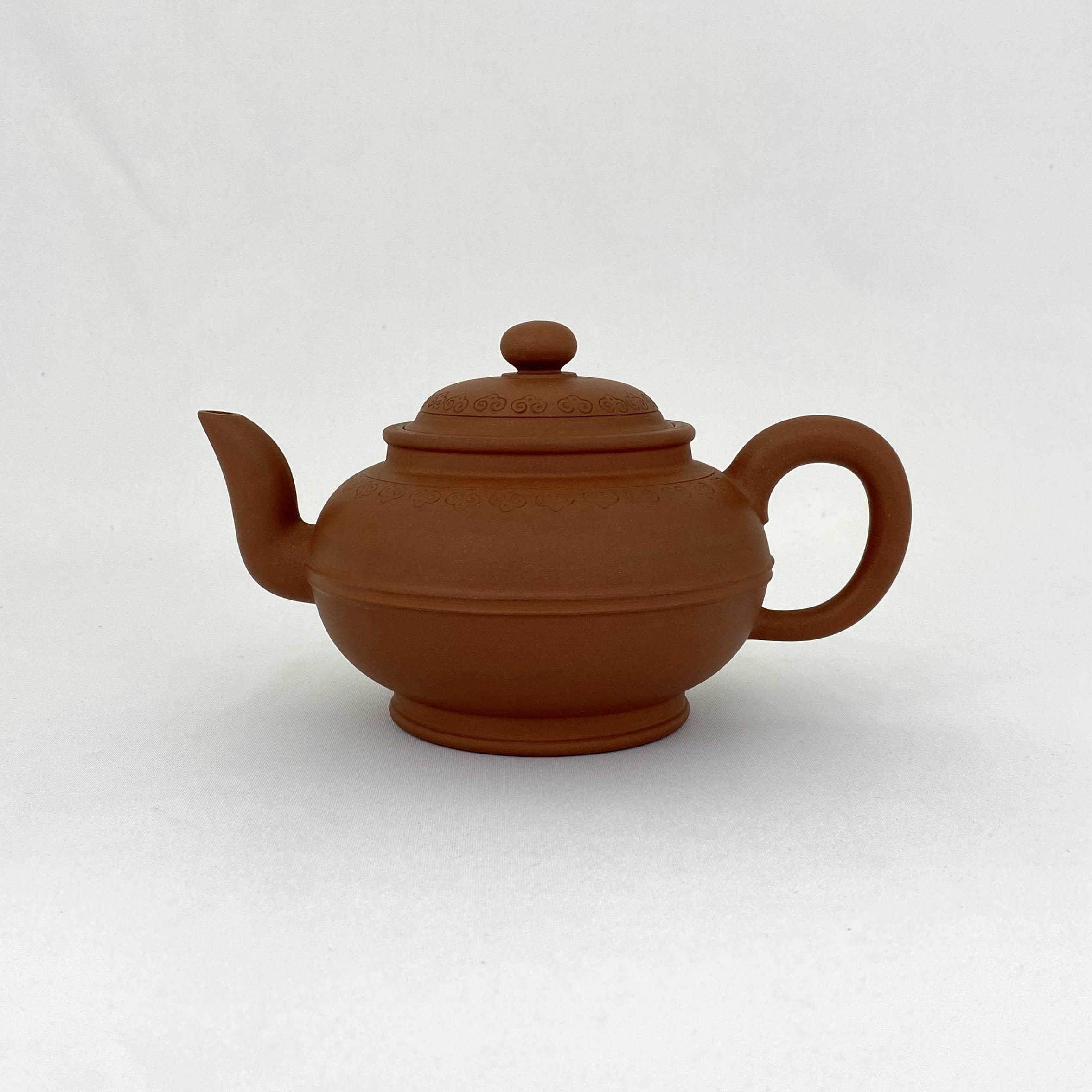 10209「邵正来製」款 朱泥 茶壺