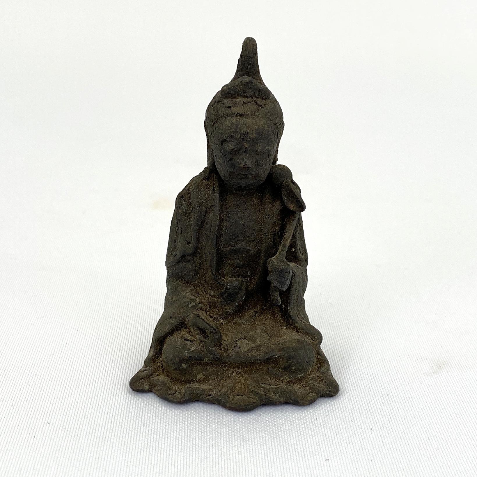10029宋代 銅 観音坐像