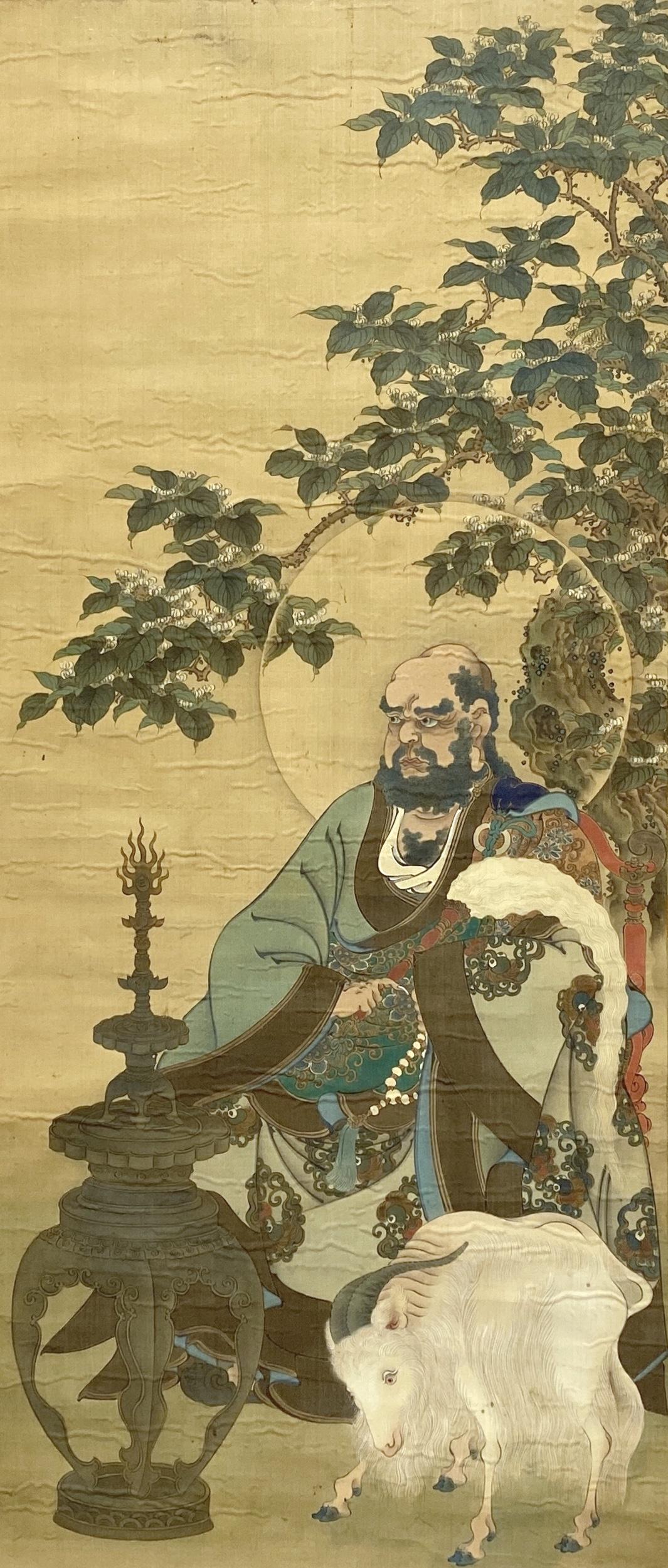 10314古画 人物図 軸