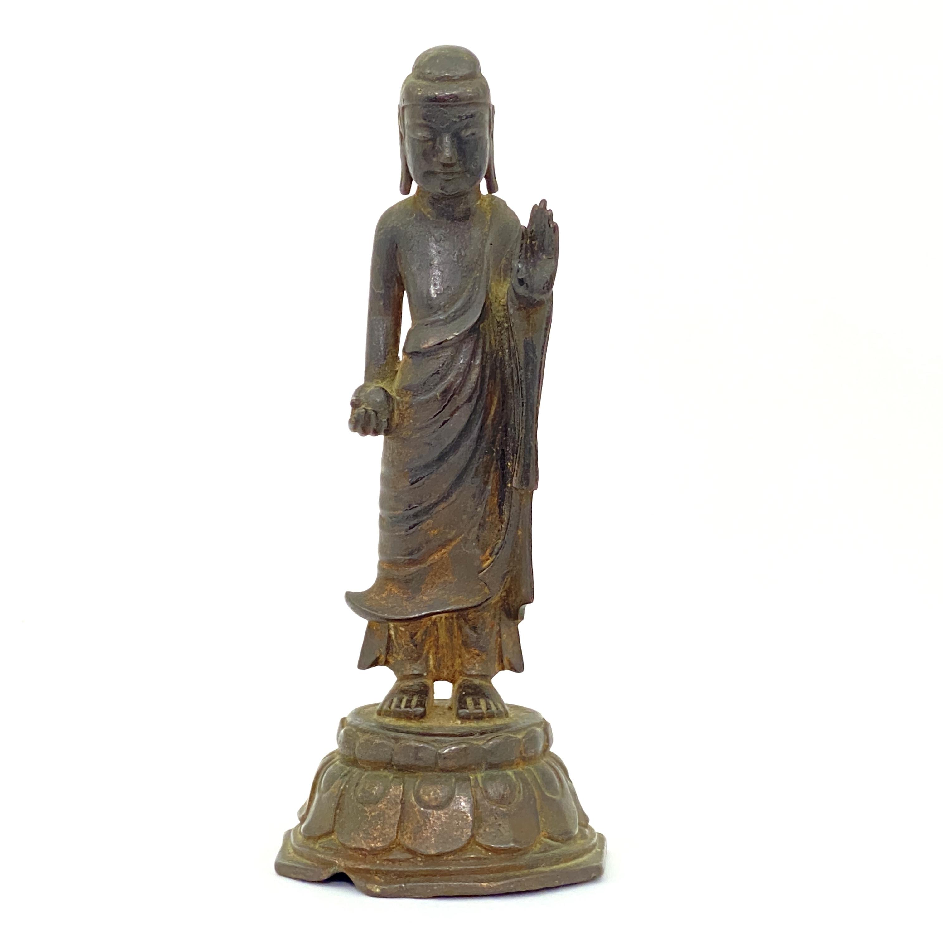 20027銅鎏金 菩薩立像