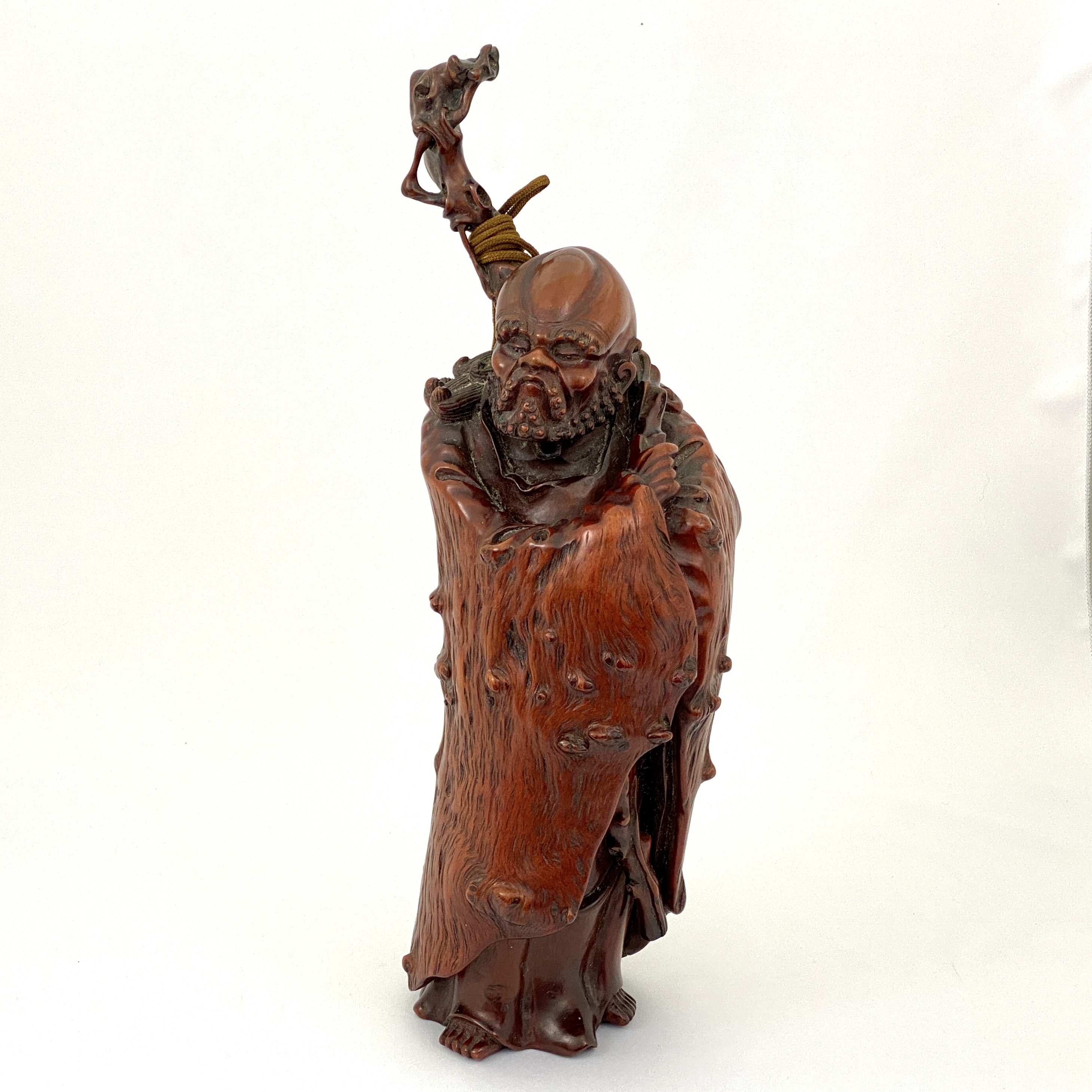 20031天然木雕 羅漢