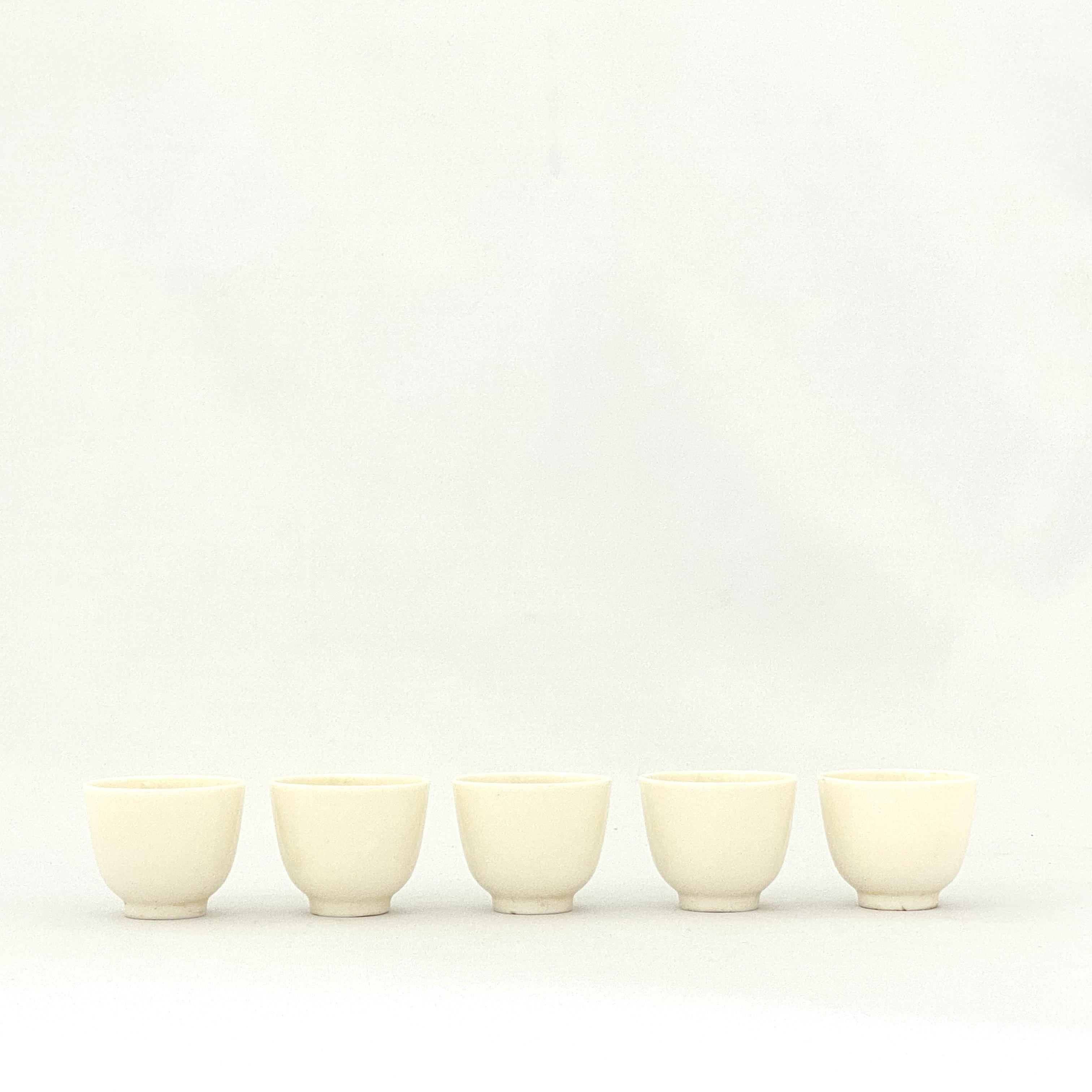 20050徳化窯 煎茶碗⑤