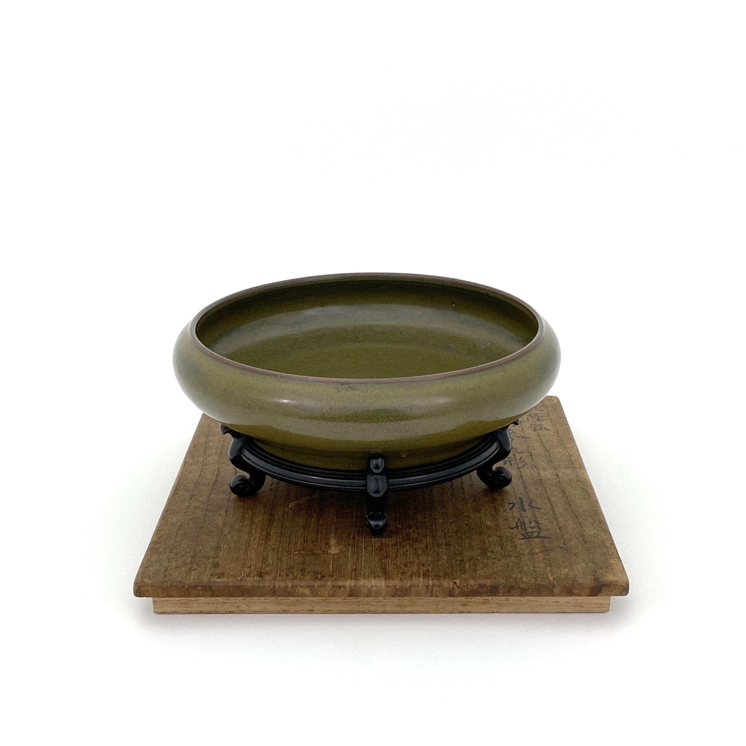 30247「大清乾隆年製」款 茶葉末釉 洗
