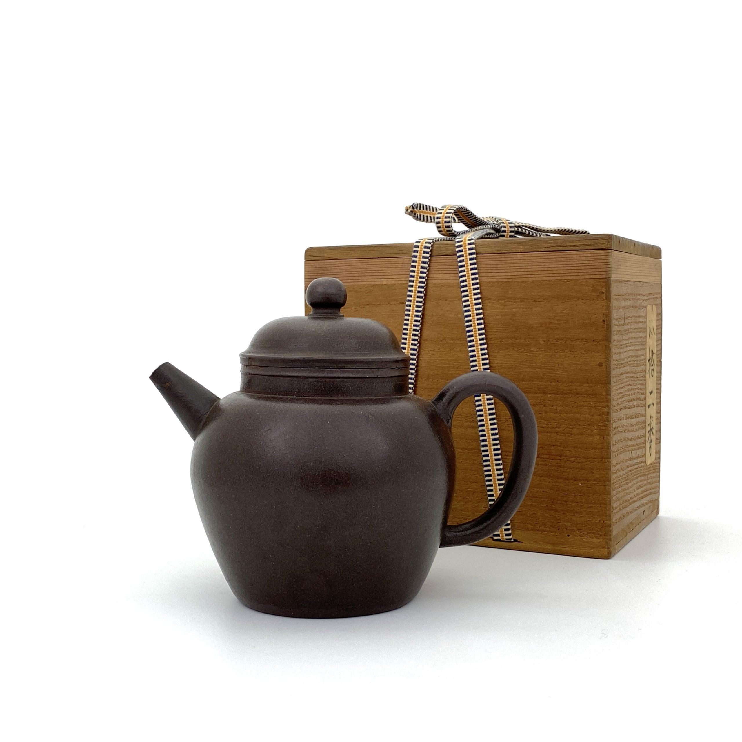 30470明末清初「陳用卿」款 紫泥 茶壺