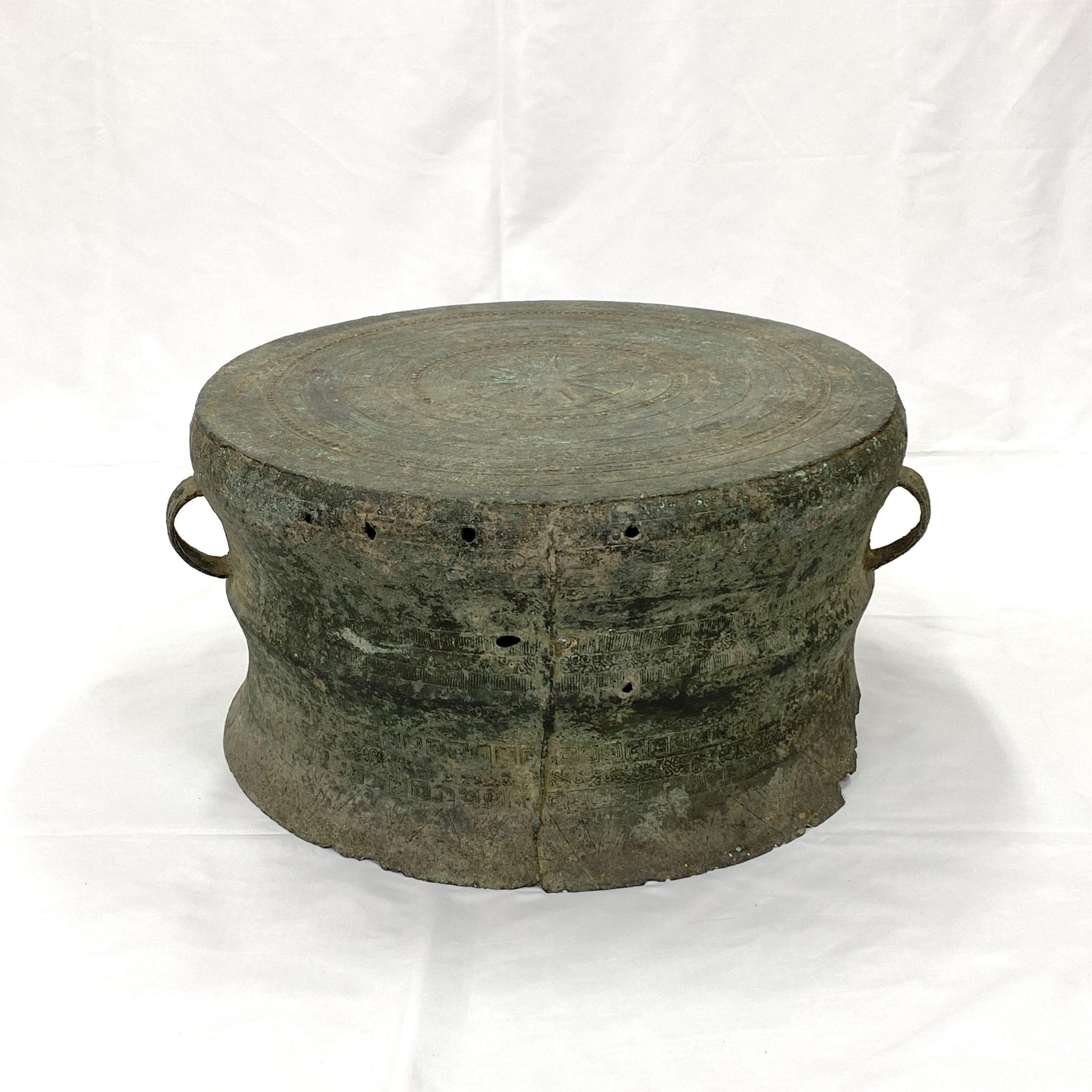 30477漢 青銅 鼓