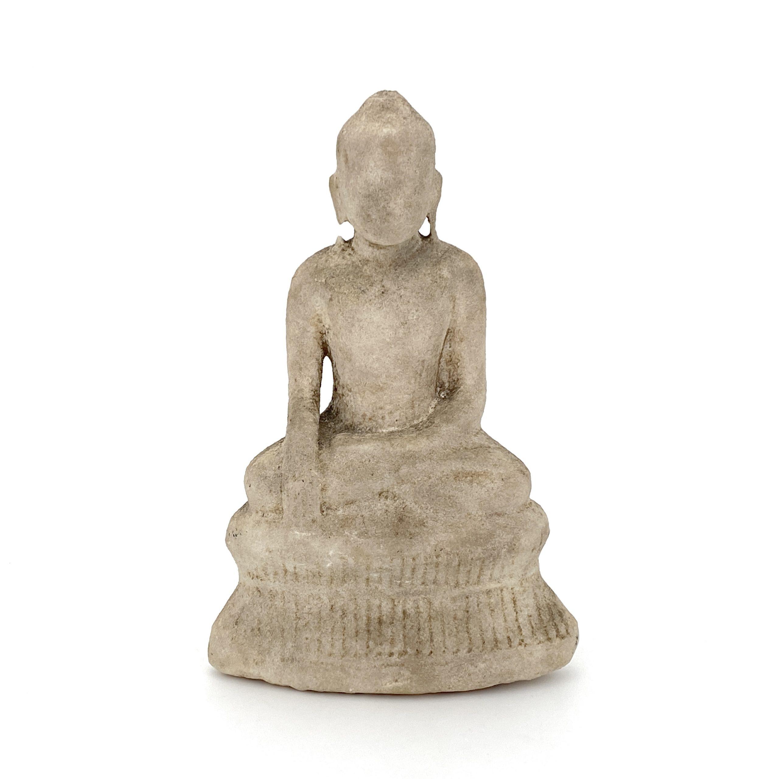 30492大理石雕 佛坐像