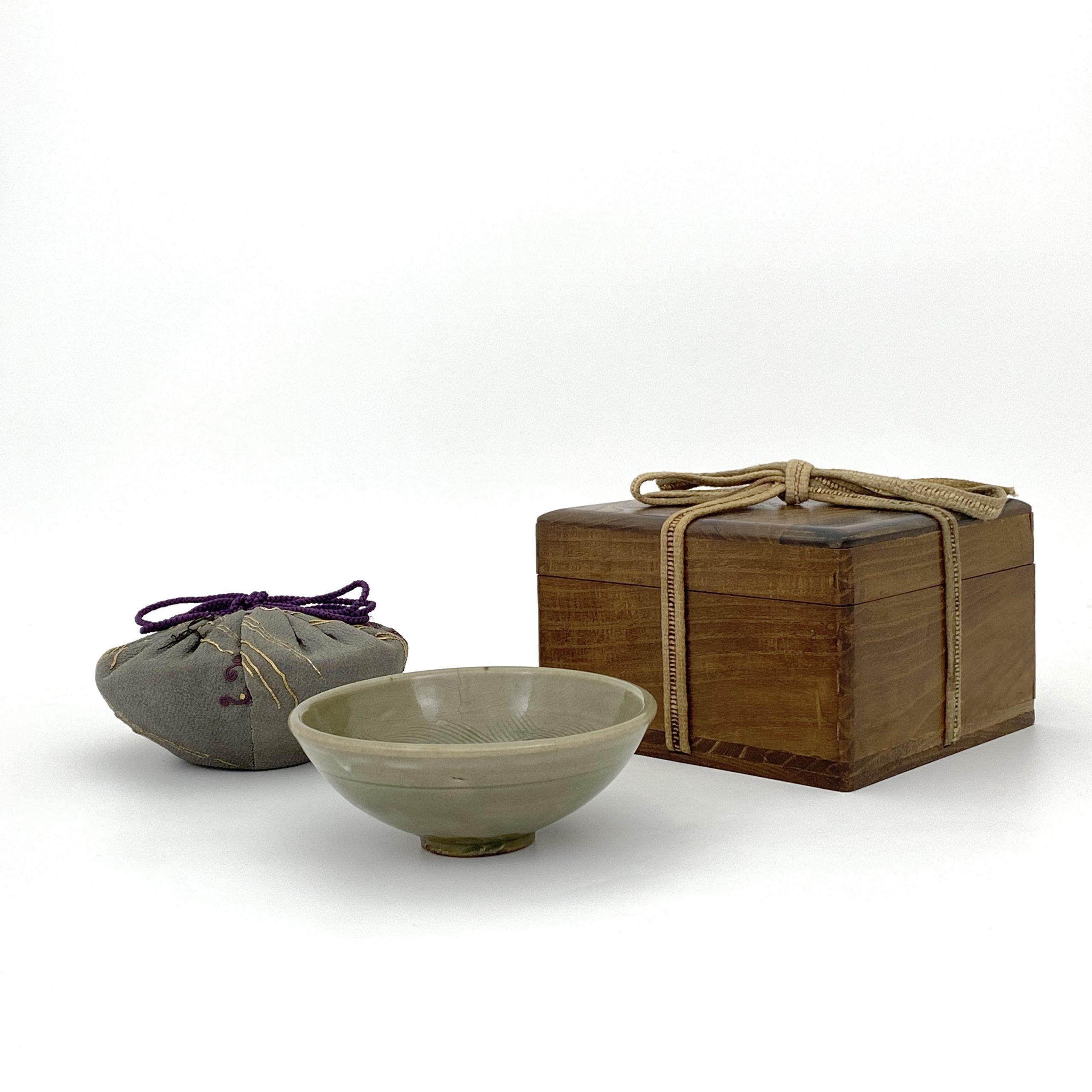 20031金 耀州窯 刻花紋 碗