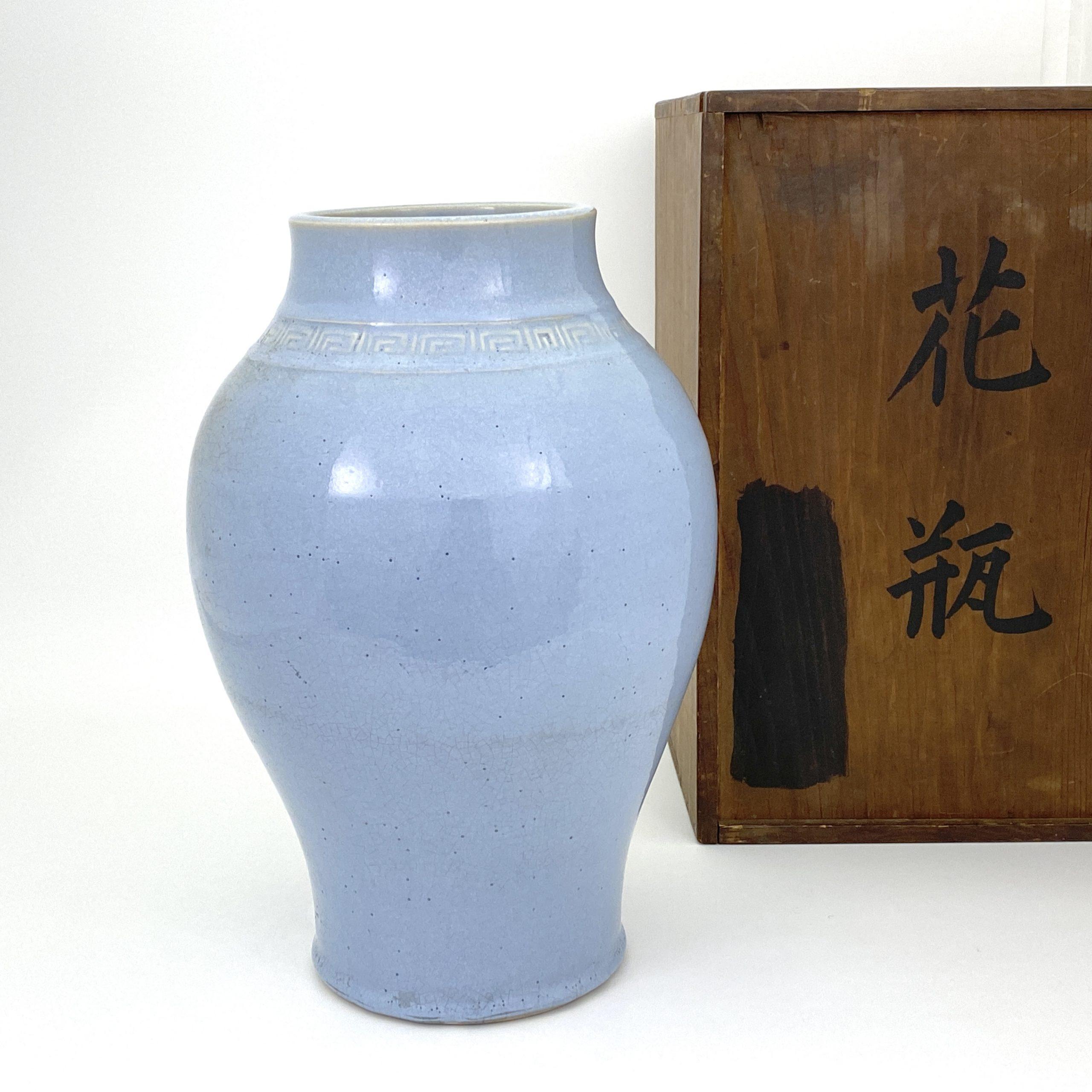 20077清 宜興鈞釉 瓶