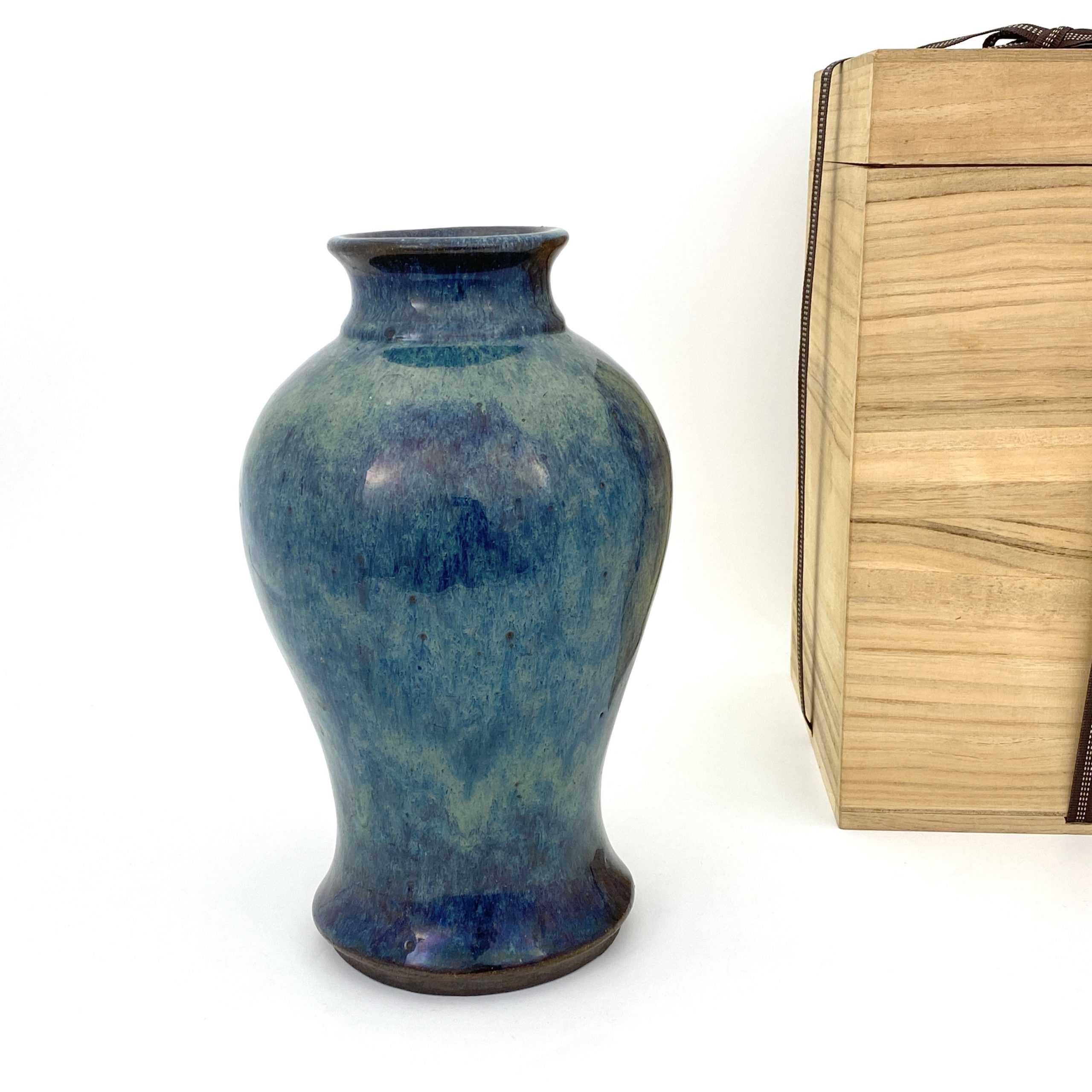 20080清 宜興海鼠釉 瓶