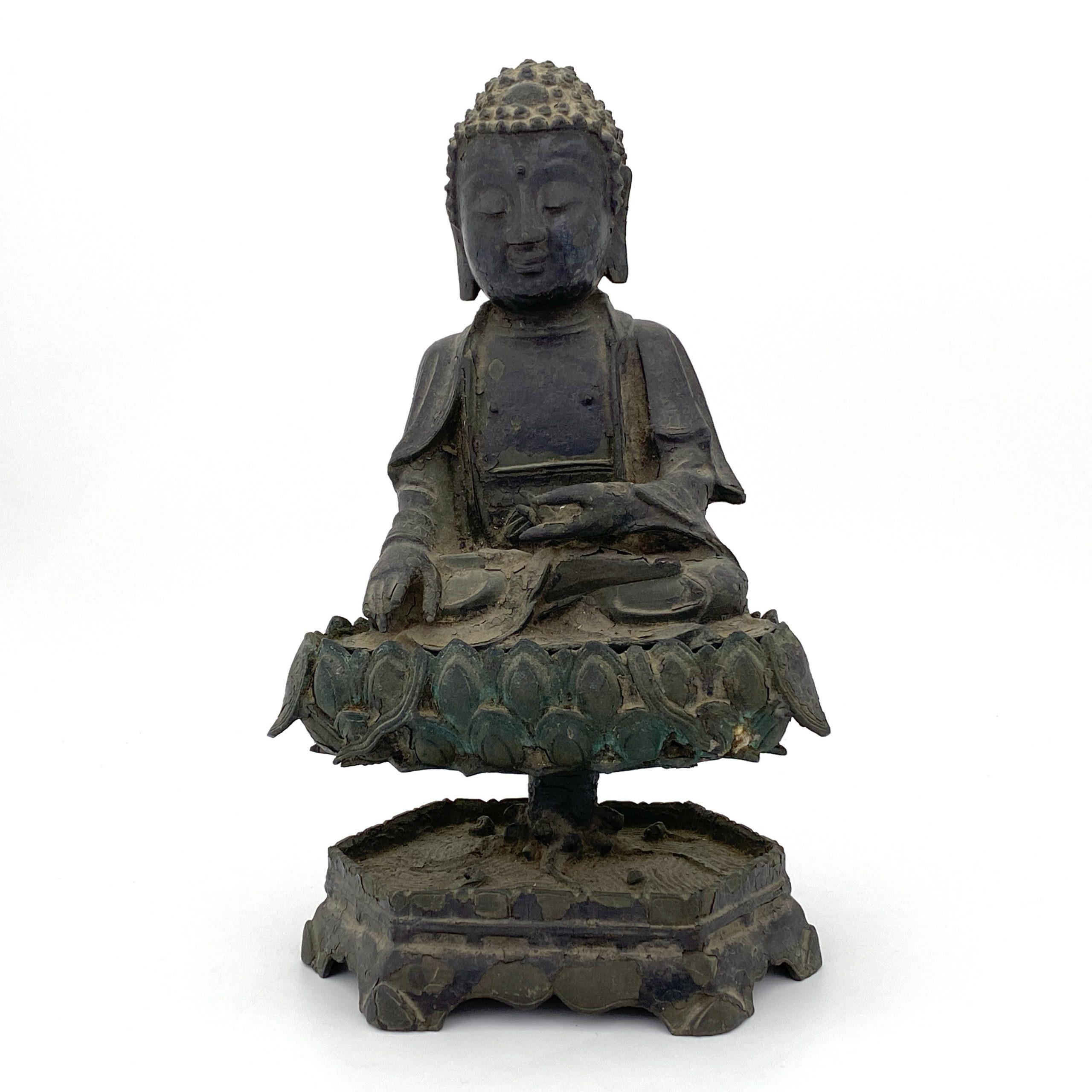 20088明 銅 釋迦牟尼