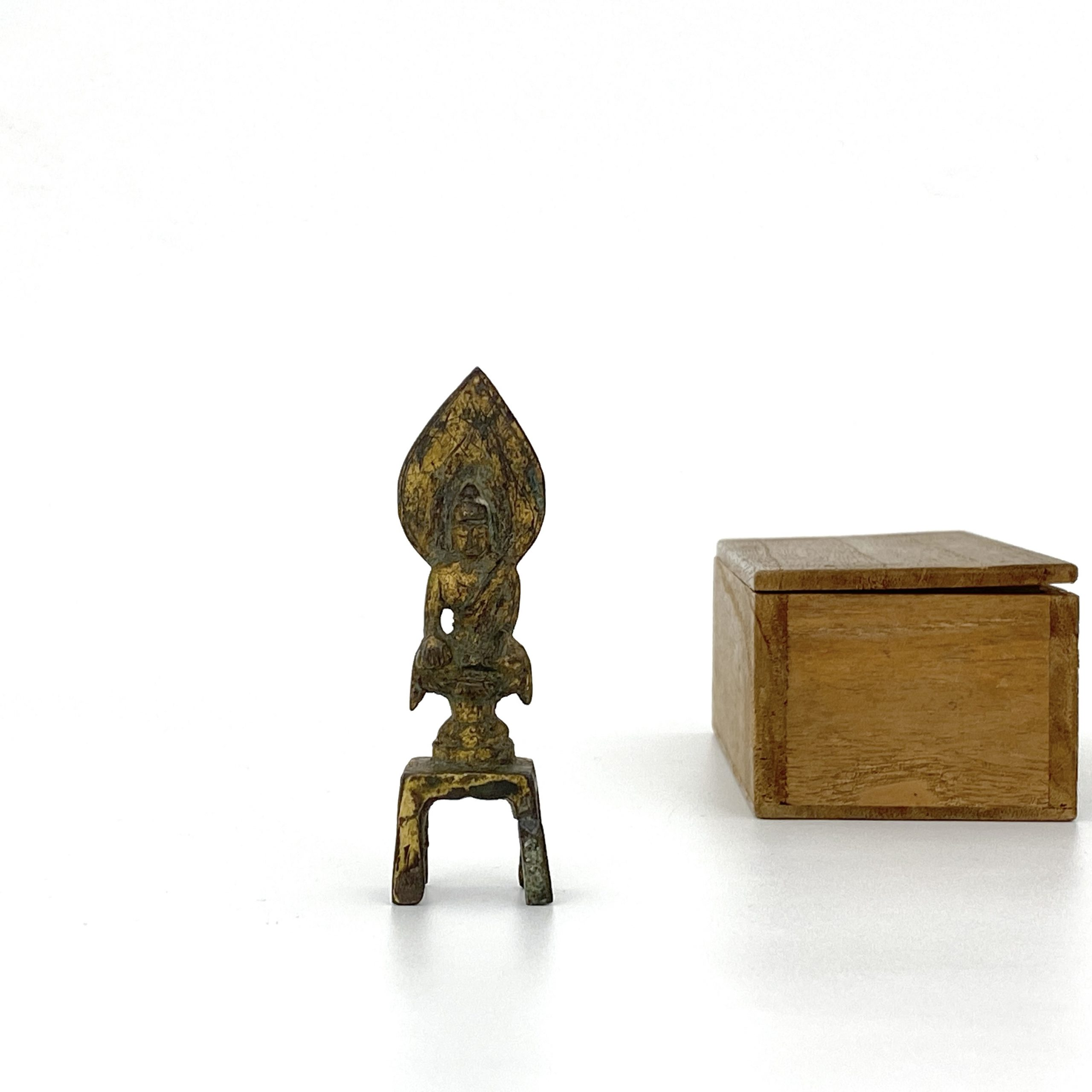 21492唐 青銅鎏金 菩薩