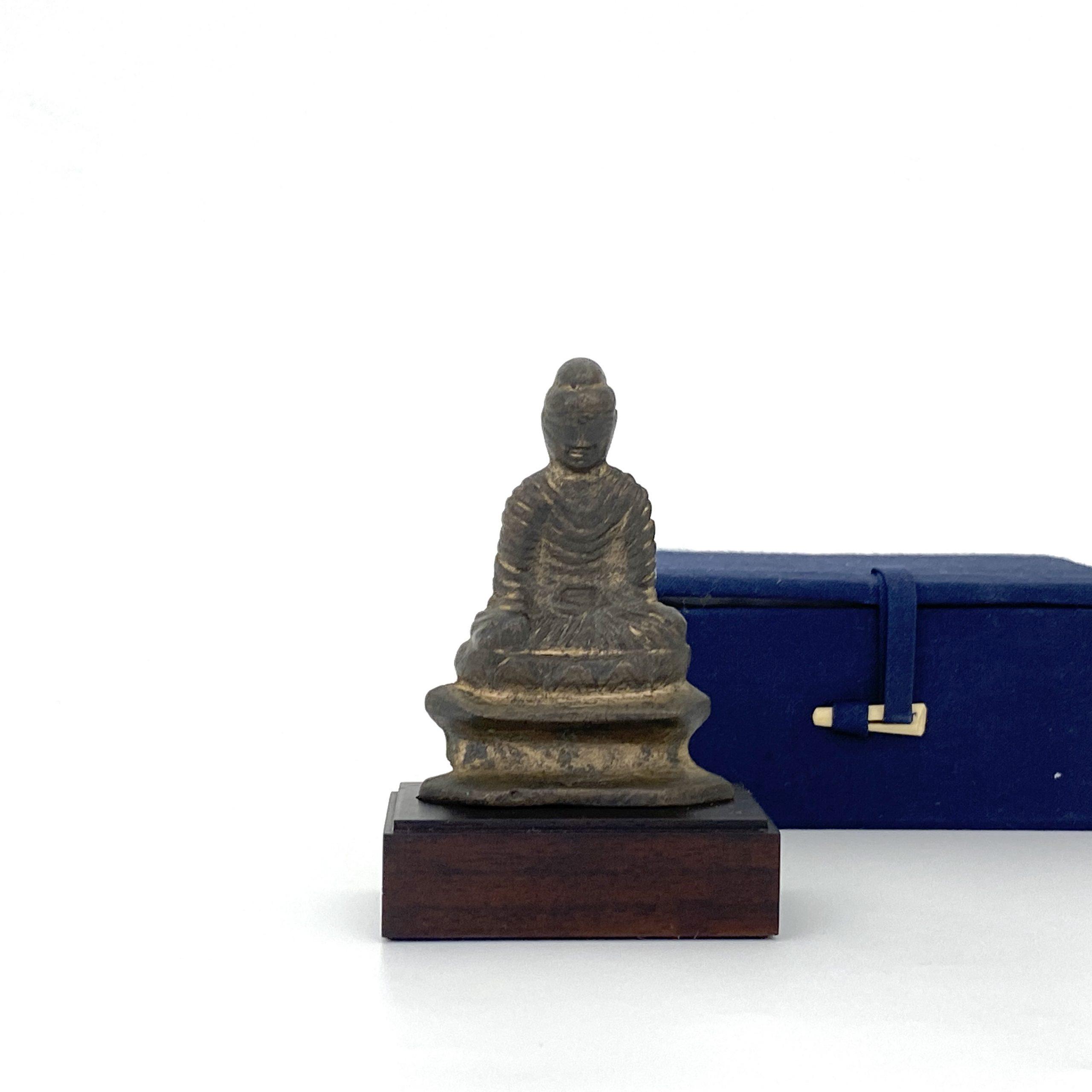 21498大理國 青銅鎏金 菩薩坐像