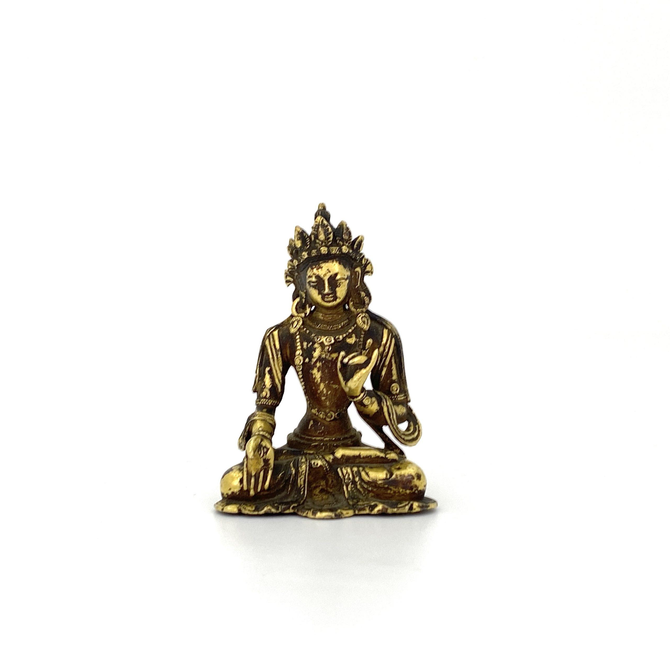 21697清十七 /十八 銅鎏金 菩薩坐像 第17回網頁掲載品