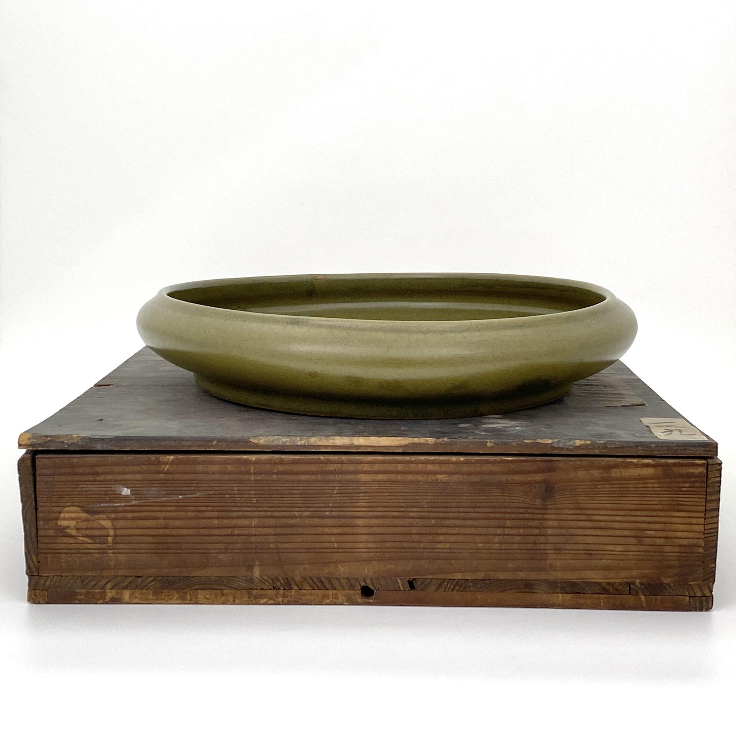 21082「大清乾隆年製」款 茶葉末釉 水盤