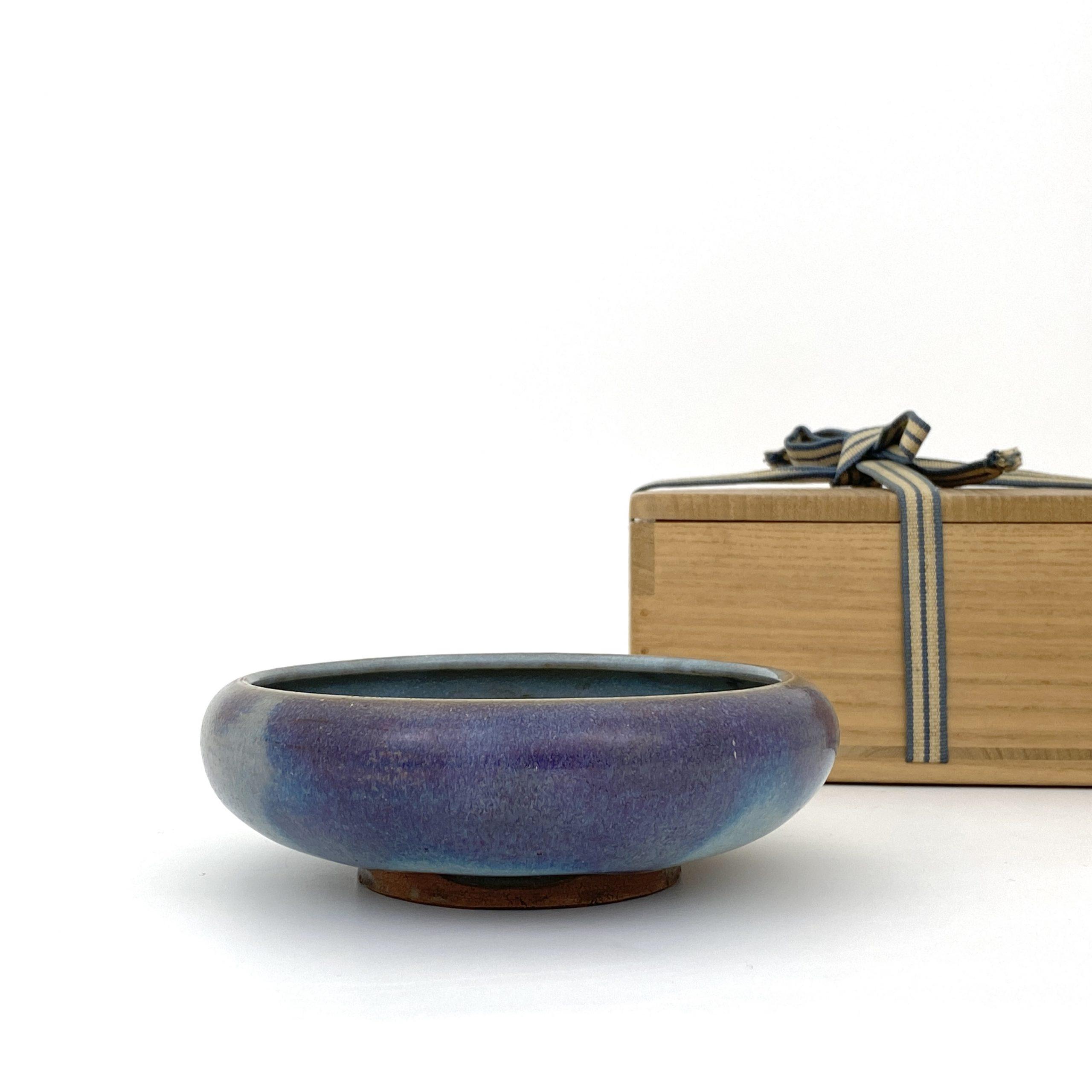 21088元 鈞窯 紫斑紋 碗